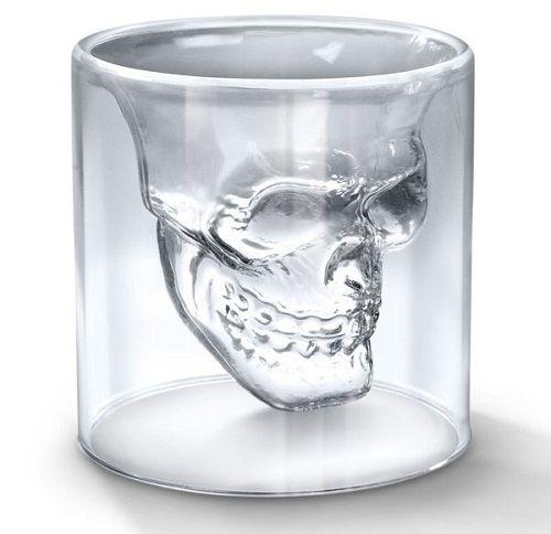 Стакан череп трехмерный Doomed