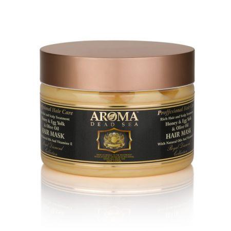 Укрепляющая маска для волос с медом, оливковым маслом и яичным желтком