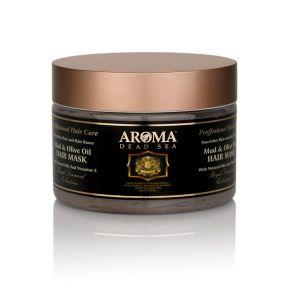 Маска для волос с грязью Мертвого Моря и натуральным оливковым маслом
