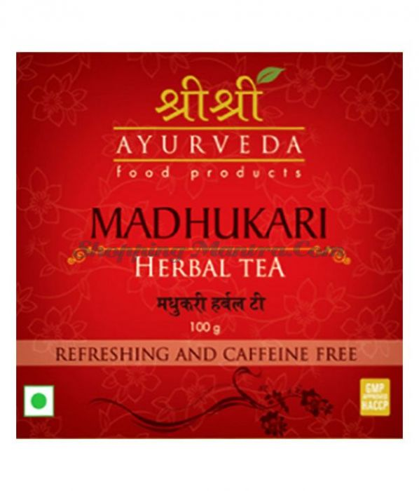 Мадхукари травяной чай Шри Шри Аюрведа (Sri Sri Ayurveda Madhukari Herbal Tea)