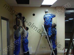 Монтаж приточной вентиляционной установки Селенга
