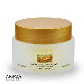 Дневной крем для нормальной и жирной кожи лица с маслом облепихи