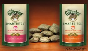 Feline Greenies® SmartBites™ Healthy Skin & Fur Formula