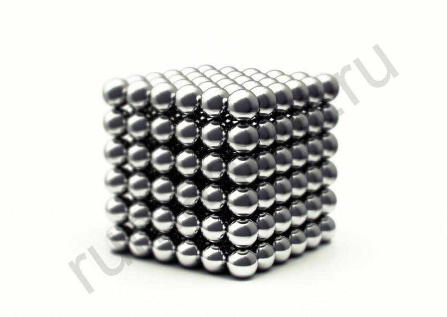 Неокуб 5мм (серебряный)