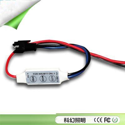 Мини-контроллер для управления видуомодулями, лентами и пикселями на основе микропроцессора WS2811