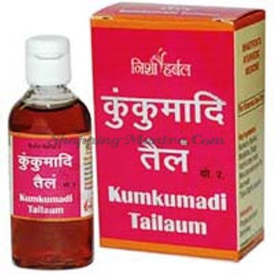 Кумкумади масло восстанавливающее для кожи лица (Nisha Herbal Kumkumadi Tailam)
