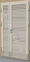 металлические жалюзийные двери