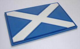 "нашивка / магнит на холодильник ""флаг Шотландии"" (Scotland)"