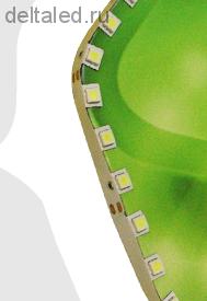Светодиодная лента 60 5050 СМД диодов на метр для подсветки объемных букв и сложных светильников, сверхяркая, белая