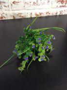 Трава с круглыми листиками(розовый,сиреневый)