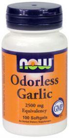 Чеснок (экстракт, дезодорир.)100кап. (эквивалент 5 долек чеснока в 1 капсуле)