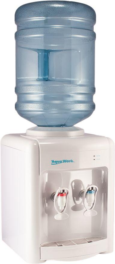Кулер настольный  Aqua Work 36TWN белый без нагрева и охлаждения
