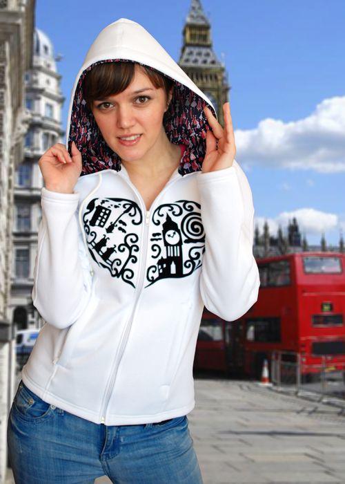 Модная толстовка Лондон