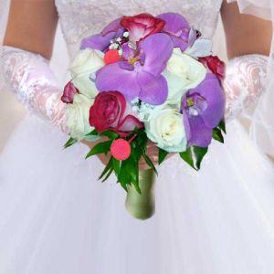 Свадебный букет невесты №5