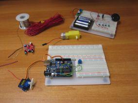 Регулировка скорости вращения сервомотора