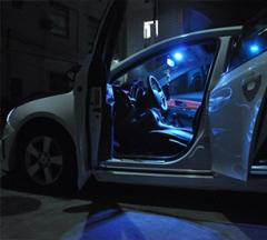 Cветодиодная RGB подсветка салона Chevrolet Cruze