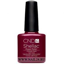 CND shellac CRIMSON SASH 0.25oz/7.3мл