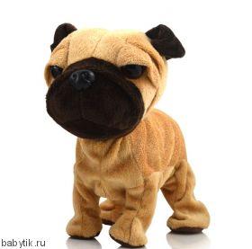 Игрушка Интерактивная собака Мопс