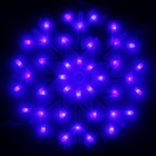 "Фигура ""Снежинка"" d-40 см, , 30 LED, 220V, контрол. 8р. БЕЛЫЙ, СИНИЙ"