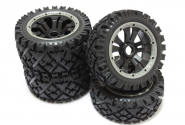 "5B ""ALL TERRAIN"" split super star wheels set"