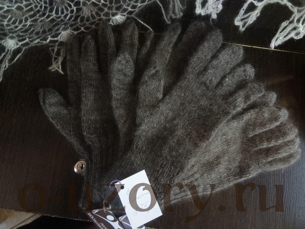 Перчатки пуховые мужские