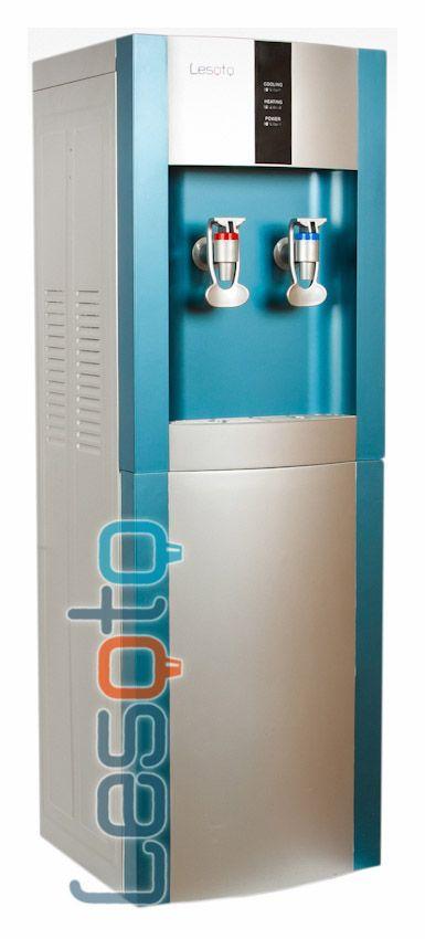 Кулер для воды Lesoto 16 LK без охлаждения, с нагревом (зелен)