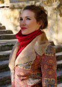 Пальто сшито из итальянского искусственного меха