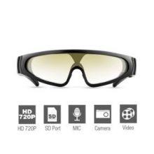 Спортивные солнцезащитные очки с пультом ДУ 720P HD