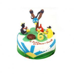 """Торт """"Angry Birds 4"""""""
