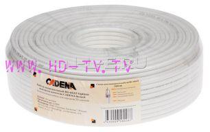 Антенный кабель Cadena RG6SAT-Optima на отрез