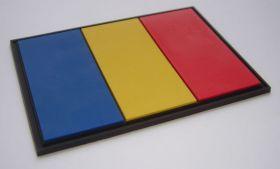 нашивка флаг Румынии (România, Romania, румынский флаг)