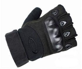 """Перчатки Oakley беспалые """"Черные"""""""