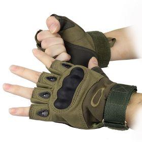 "Перчатки Oakley беспалые ""Олива"""
