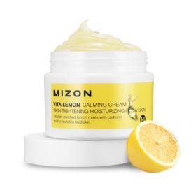 MIZON VITA LEMON CALMING CREAM 50ml - крем витаминный с лимоном