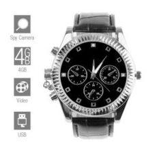 Классические наручные часы с видеокамерой