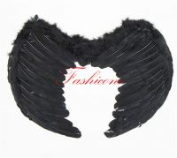 черные крылья средние