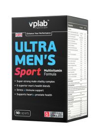 Ultra Men's Sport Multivitamin Formula от VP Laboratory 90капсул