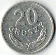 20 грошей.1968 год. Польша.