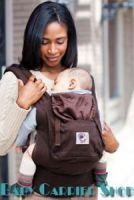 ERGO BABY CARRIER ORGANIC COLLECTION Dark Chocolate BC9ODCK