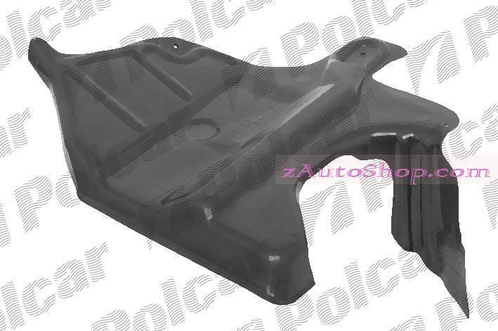 NISSAN ALMERA (N15) 96 - 99 :Защита под двигатель левая (боковая)
