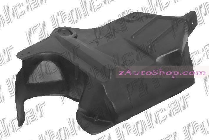 NISSAN ALMERA (N15) 96 - 99 :Защита под двигатель правая (боковая)
