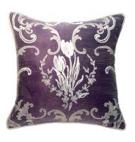 """Декоративная подушка """"Тюльпаны"""" фиолетовые"""
