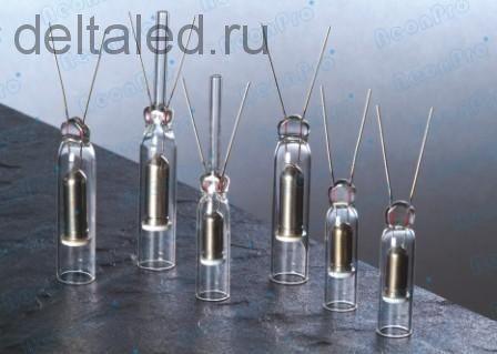 Электроды для неоновых трубок Hongba с керамической вставкой 10 мм. Пара