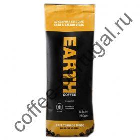 """Кофе """"Earth"""" грубый помол  250 гр"""