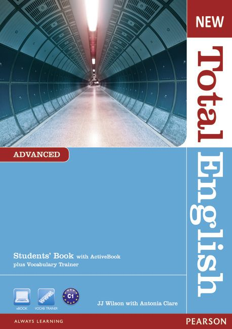 New Total English Advanced Students' Book with Active Book DVD