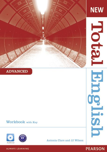 New Total English Advanced Workbook with Key and Audio CD