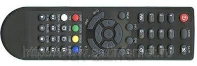 Пульт ДУ для ресивера  Телекарта  X-8