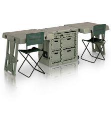 #FD3429 Кейс-стол двойной, раскладной