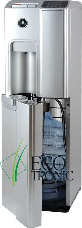 Кулер для воды Ecotronic P7-LX silver нижняя загрузка