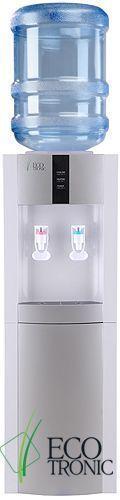 Кулер для воды Ecotronic H1-LE white-silver